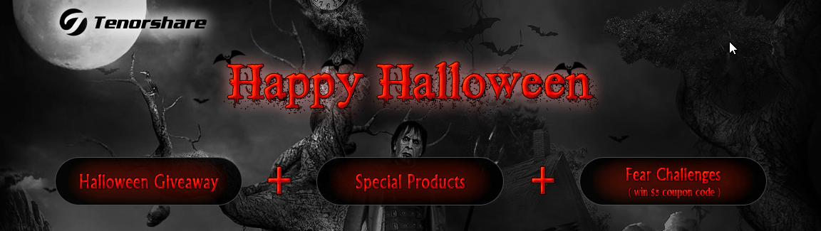 Tenorshare Halloween