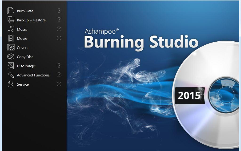 Ashampoo Burning Studio 2015