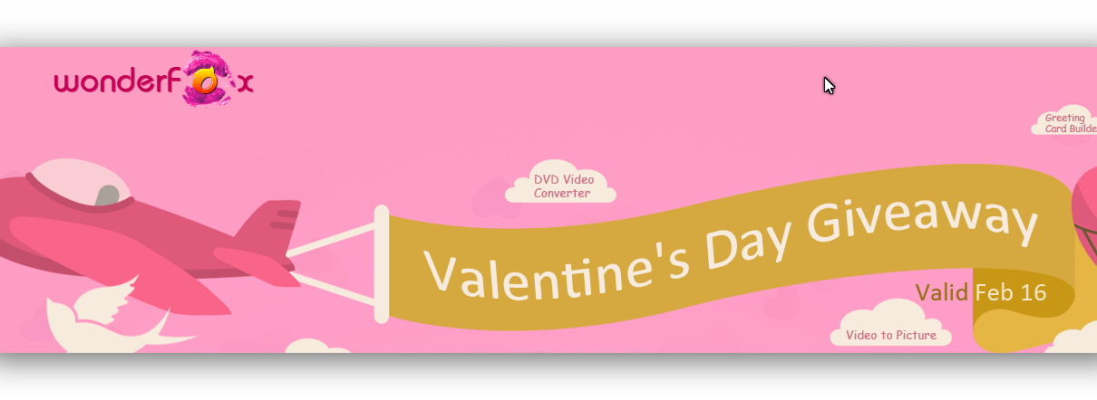 WonderFox Valentine's Day Giveaway