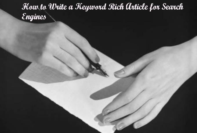 Keywords Writing Articles