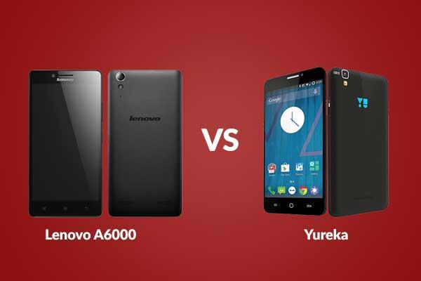 Lenovo A6000 vs Yureka