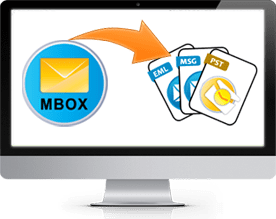 Export MBOX Files In Outlook PST