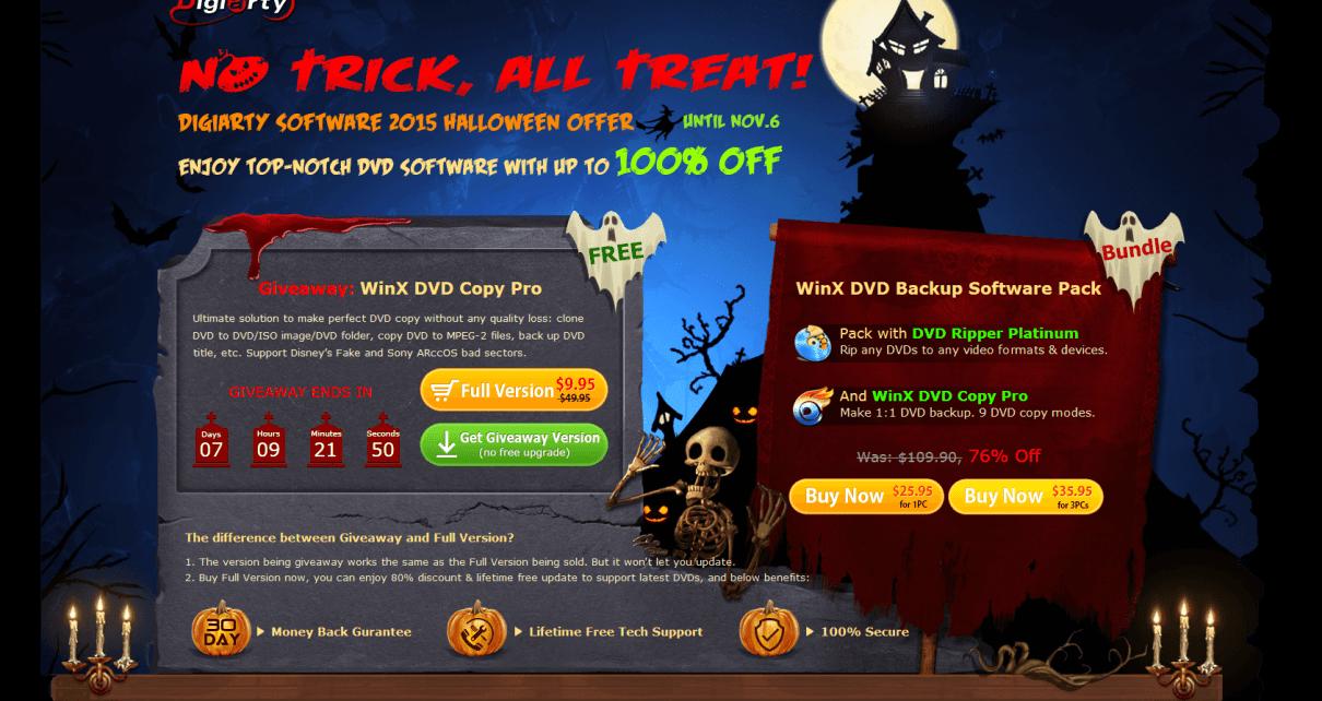 WinX Halloween Giveaway
