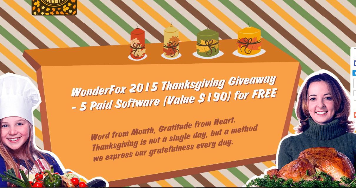 Wonderfox Thanksgiving