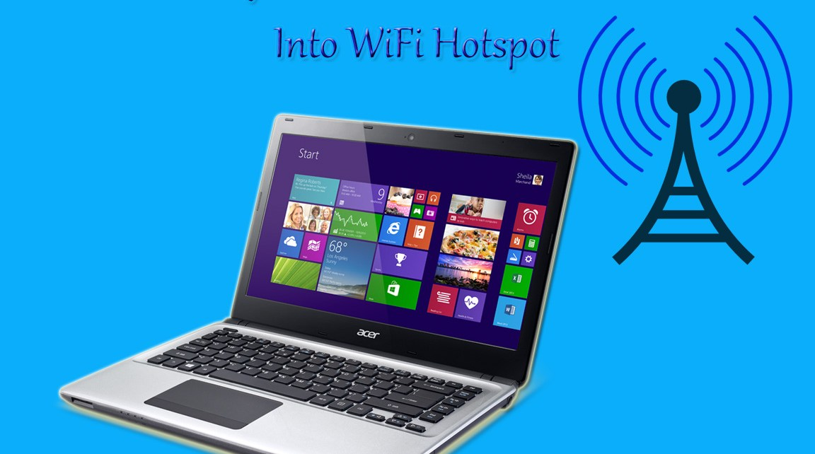 Turn Your desktop Into WiFi Hotspot