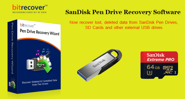 SanDisk Pen Drive Recovery Software
