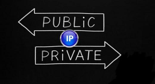 Private IP address