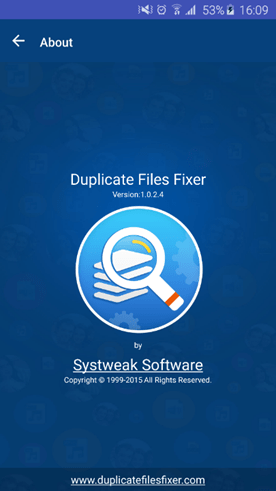Duplicate Files Fixer Android App