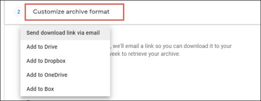 Google Drive Customize