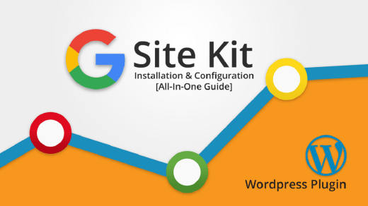 Setup Google Site Kit