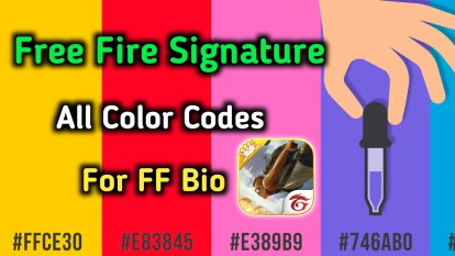Free Fire All Country Flag Code