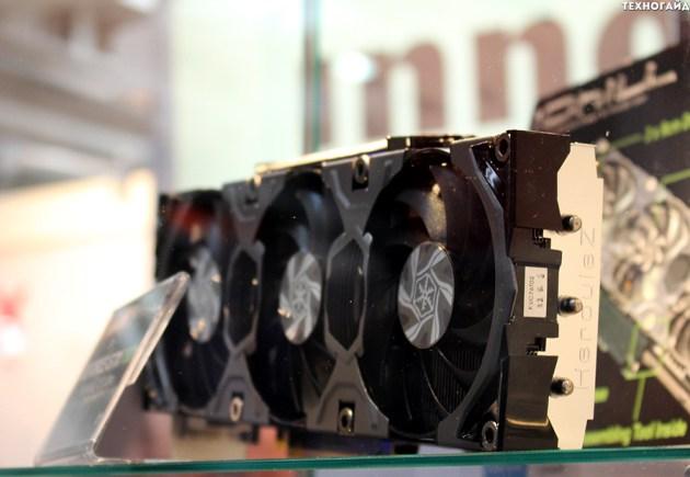 Новая видеокарта GeForce GTX TITAN Hybrid iChill и фоторепортаж со стенда Inno3D