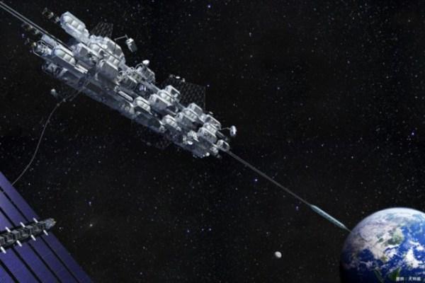 Японцы построят лифт в космос