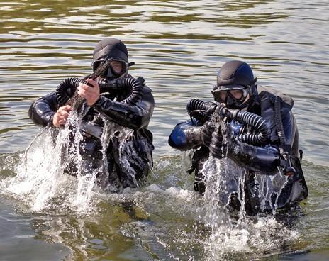 Российский спецназ получил подводные бронежилеты
