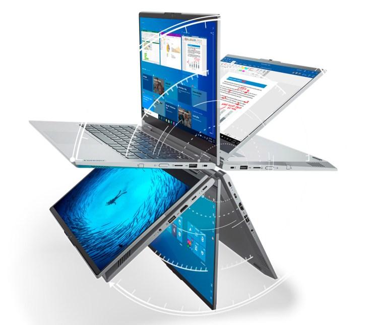 Бизнес-ноутбук трансформер Lenovo ThinkBook 14s YOGA уже в Украине по цене от 34 343 грн