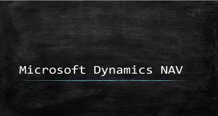 Microsoft Dynamics NAV – T E C H N O G U N S