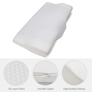 Bed Pillow Price in BD – Memory  Foam Gel Cervical Bed Pillow prevent your neck pan