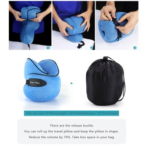 Portable Travel Neck Pillow, Best travel pillow price in Bangladesh