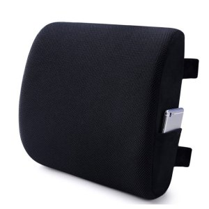 Memory Foam Lumbar Support Back Cushion Price in Bangladesh | Back Pain Relief Pillow for office chair