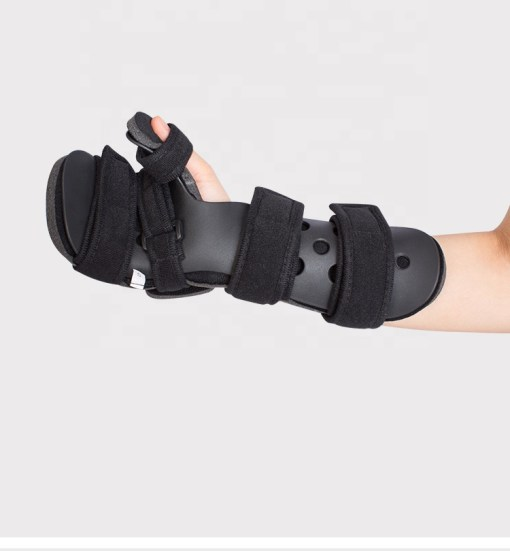 Hand support brace for stroke patient