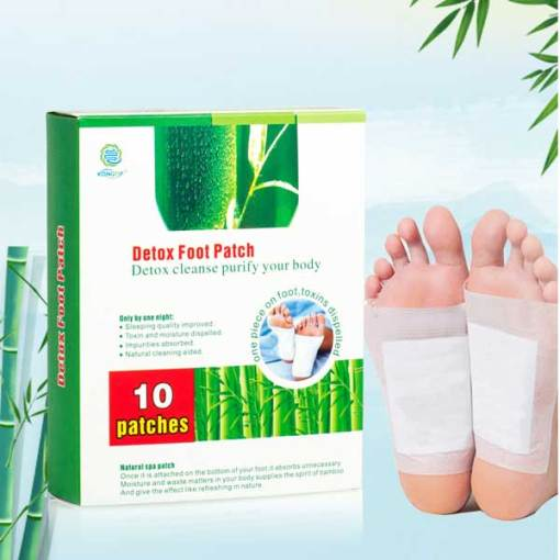 Detox foot pads/ Remove waste relax health detox foot patch