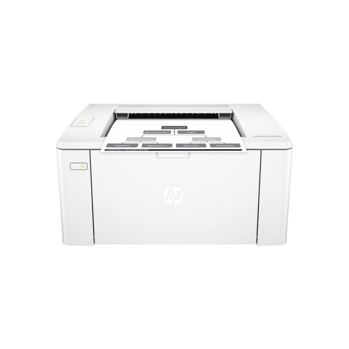 HP LaserJet Pro M102a Monochrome Printer Black/White