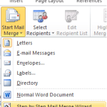 What is mail Merge in ms word
