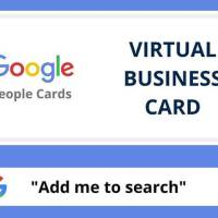 Add me to Google Search Card Complete information