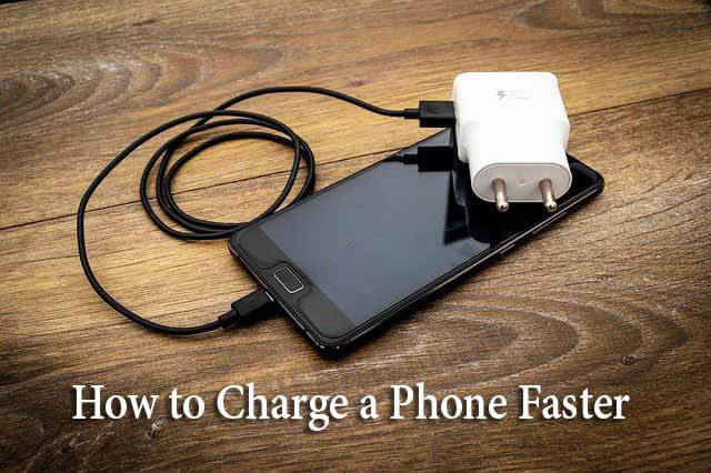 How to Charge a Phone Faster