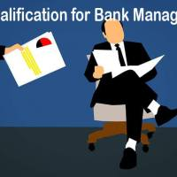 Qualification for Bank Manager in India