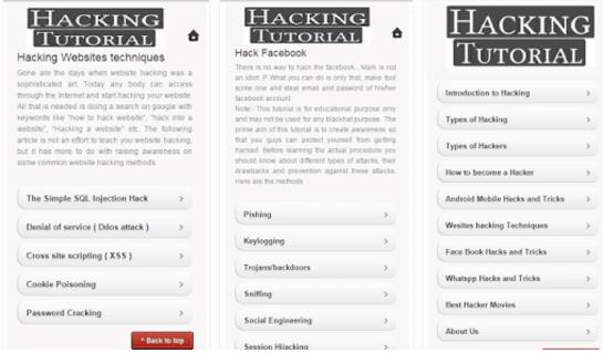 Hacking Tutorials