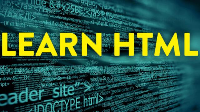 تعلم HTML