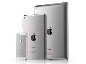 Apple iPad 3 iPad mini and iPhone 5 size comparison: Cutting Edge Technology