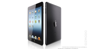 iPad's elegant desing (black)