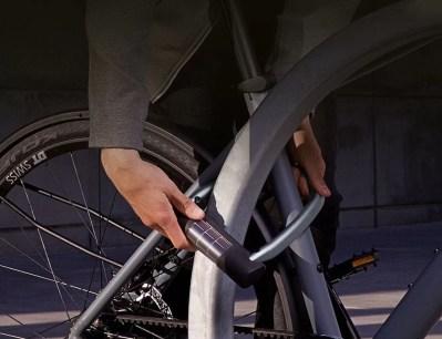 daily smart bike lock