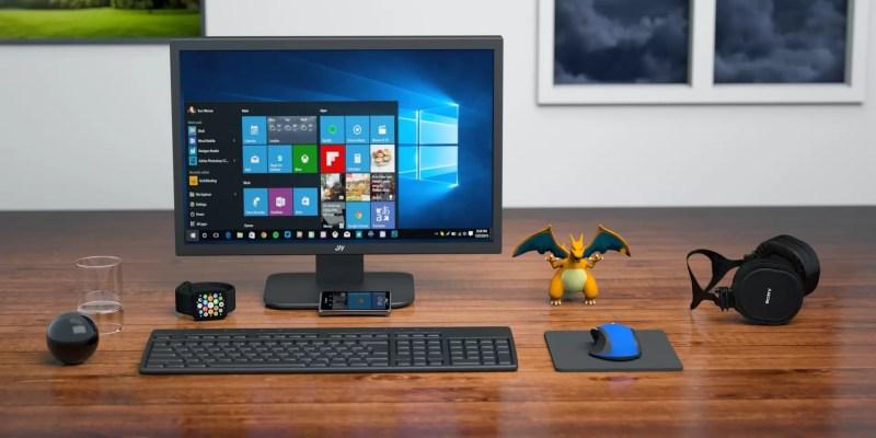 Full desktop set