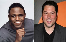 Wayne Brady and Greg Grunfeld