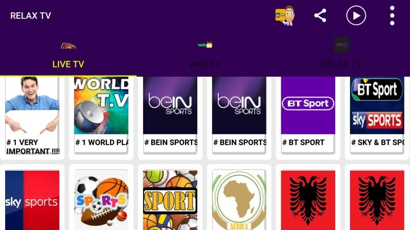 RELAX TV V2 1 | 2 Million IPTV Channels - Technology-23