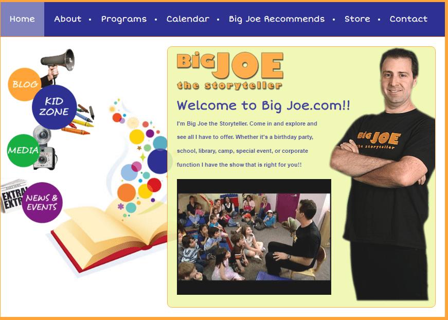 joe website