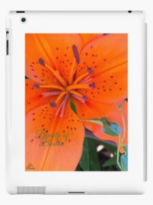 The Siberian Lily iPad Case