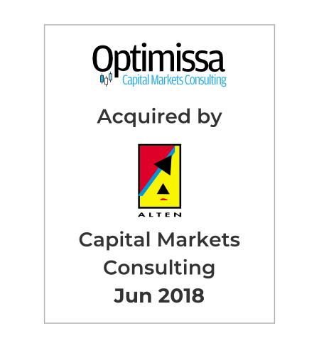 Technology Holdings advises Optimissa, a Capital Markets