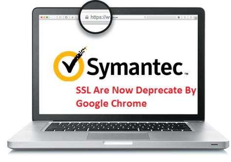 Chrome downgrade Symantec EV SSL