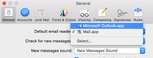 Doing an Email Merge on a Mac with Outlook, Excel, and Word – St