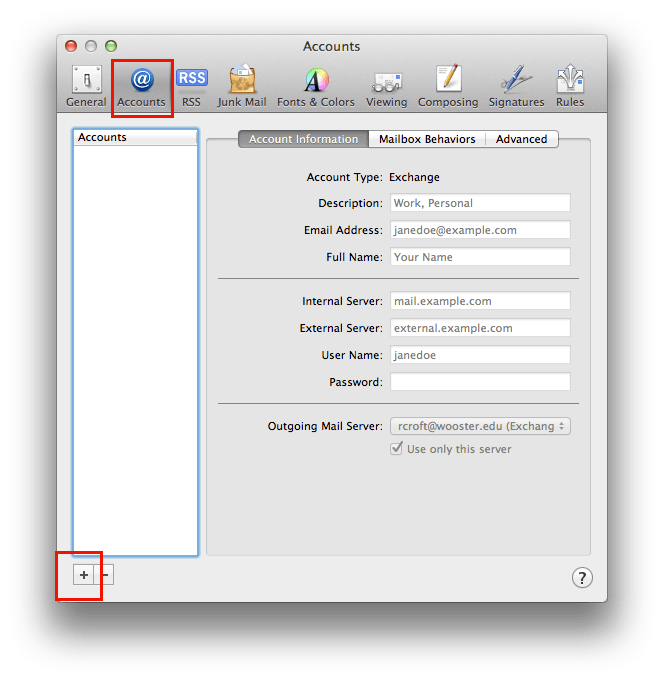 MacMail Step2 Select Accounts copy2