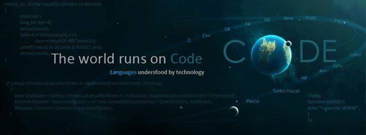 World Runs On Code. !!