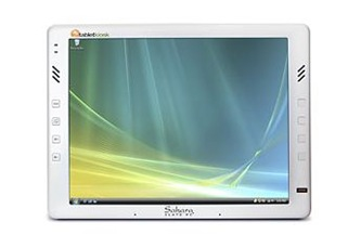 TabletKiosk i440D Slate PC in Pearl White