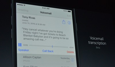 apple-voicemail transcriptions