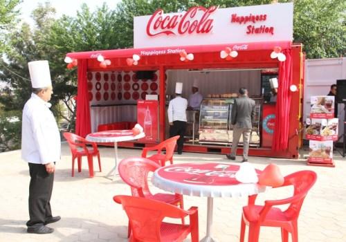 कोका–कोलाद्वारा नेपालको पहिलो कियोस्क कन्टेनर स्थापना