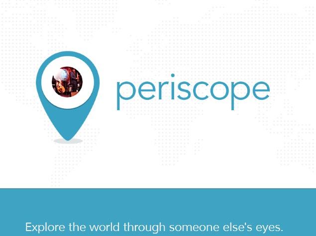 भिडियो स्ट्रिमिंगको लागि ट्विटरले 'पेरिस्कोप' एप ल्यायो