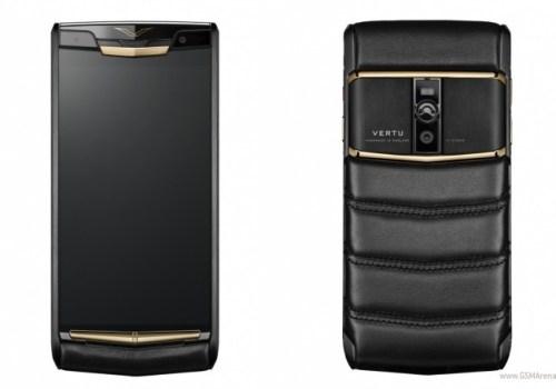 यस्तो छ २३ लाख रुपैंया पर्ने भर्टुको 'सिग्नेचर टच' स्मार्टफोन